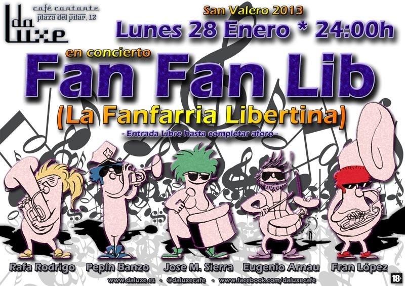 Fanfarria Libertina en Da Luxe
